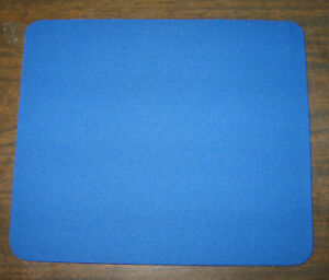 "NEW with MINOR FLAWS 6 mm thick Plain Mouse Pad (9 1/2"" x 8"" x 1/4"")"