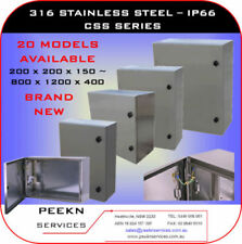 Stainless Steel Industrial Electrical Boxes & Enclosures