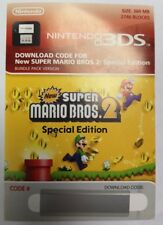 New Super Mario Bros 2 Special Edition Download Nintendo 3DS 2DS XL NEW