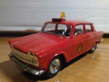 Antigua miniatura 1:43 Scale Carr RS006 Seat 1500 Jefe de Bomberos.
