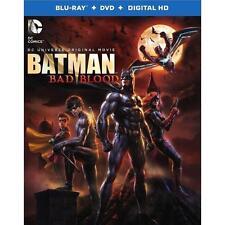 Batman: Bad Blood (Blu-ray/DVD, 2016, 2-Disc Set, + DIGITAL HD) W/ SLIPCOVER NEW