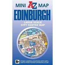 Edinburgh Mini Map  - NEW 2017 EDITION - CITY CENTRE MAP - A-Z MAPS