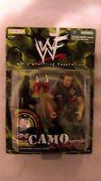 WWF Camo Carnage Road Dogg Jesse James Figure From Jakks Pacific 1999 NEW t722