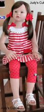 Gorgeous reborn Toddler girl, size of 5yr. old, Angelica Reva Schick, beautiful