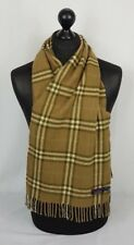BURBERRY SCARF 100% CASHMERE MADE IN ENGLAND #S206