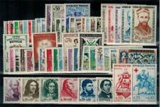 """timbres France n° 1230/1280 neufs** année 1960 complète """"MNH"""""""