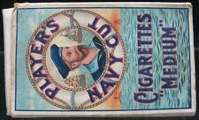 Vintage 1900's Tobacco Cigarette Box Player's Navy Cut Medium