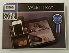 Totes Personal Care Valet Tray New