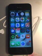 Apple iPhone 5-16GB-  Black unlock (AT&T) A1428. Good condition. Pre-own