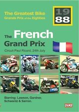 The Greatest Bike Grands Prix of the Eighties - French GP 1988 (New DVD) Motogp