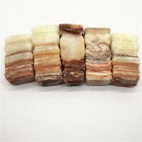 Crystal Rough Meat-shaped Raw Gemstone Mineral Specimen Irregular Reiki Healing