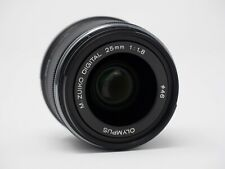 Olympus M.Zuiko 25mm f/1.8 AF Lens - Black for Micro Four Thirds