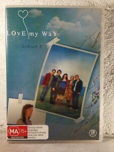 Love My Way Season Two Series 2 - DVD (3 DISC) AUSTRALIAN SHOW TV SERIES REGION4