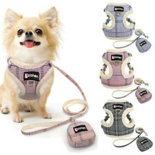 Pet Dog Harness Vest Adjustable Traction Rope Chihuahua Puppy Cat Chest Strap