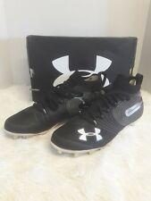 Under Armour Men's Spotlight Mc Lacrosse Shoe, Black size 9 M