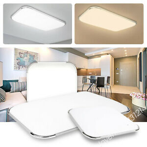 ⭐Dimmable LED Ceiling Down Light Panel Square Round Kitchen Hallway Bedroom MB