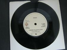 """Vinyl Record 7"""" Single PRINCE I WANNA BE YOUR LOVER (Q)"""