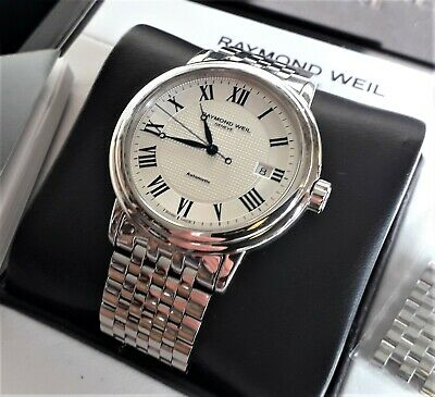 Raymond Weil Geneve Maestro Automatic Model No. 2837-ST-00659 A superb example!