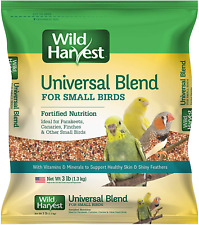Wild Harvest Daily Blend for Canaries Parakeets Finches & Other Small Birds 3lb.