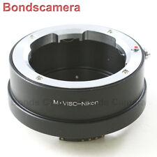 AF Confirm Leica Visoflex M Viso Lens to Nikon F Mount Adapter D750 D3200 D5200