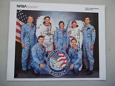 STS-61B Autographed (autopen) 8X10 Crew Photo
