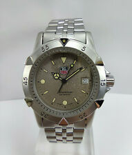 TAG HEUER 1500 Classic Professional Ref WD1211-K-20 Stainless Steel Quartz Watch