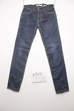 Levi's 519 slim (Cod.J515) T. 42 W28 L32 vaqueros usados vintage talle alto