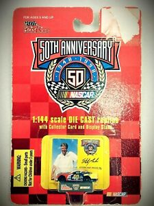 50th Anniversary Racing Champions 1998 NASCAR 1:144 Scale #40 Sterling Marlin