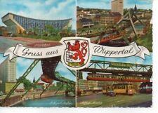 AK Wuppertal Mehrbildkart u.a. mit Straßenbahn 1969 ( N 5061-19 )