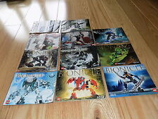 LEGO BIONICLES Instruction MANUALS 8589 8590 8535 8615 8575 8603 8532 8978 8587