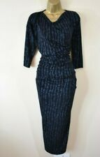 £360 NEW VIVIENNE WESTWOOD SHAMAN Metallic Barbed Wire Draped Long Party Dress M
