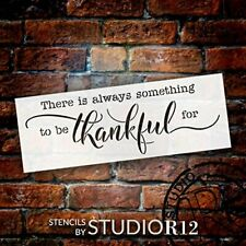 Always Something to Be Thankful for Stencil by StudioR12 | DIY Simple...