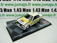 RMIT32F 1/43 IXO Rallye Monte Carlo : OPEL Ascona 400 1981 J.Kleint mobil