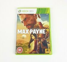 Max Payne 3 - PAL - Microsoft XBOX 360 Game - Free UK Delivery