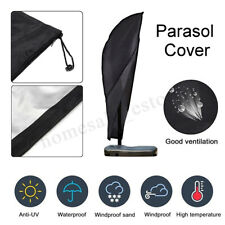 Parasol Umbrella Protect Cover Cantilever Outdoor Garden Patio Shield