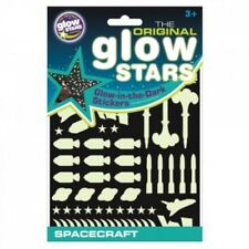 The Original Glowstars Company Glow in The Dark Stickers Spacecraft - Toys