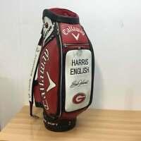 Callaway 2016 Great Big Bertha Tour Staff Bag w/ custom 'Harris English' Panel