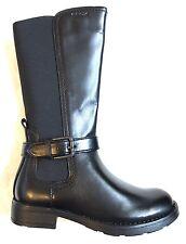 BNIB Geox Respira Sofia Leather Elastic Girl's Long Shoes 11UK, RRP £70
