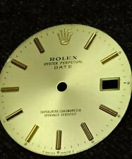 Rolex Date champagne Dial for 15053 or other models ? - authentic