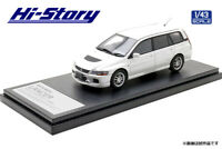 1/43 HI STORY HS298WH MITSUBISHI LANCER EVOLUTION WAGON GTA 2005 model car
