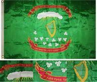 3x5 Embroidered Sewn Irish 69th Regiment 300D Nylon Flag 3'x5' Banner