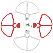 Rotor protección conjunto blanco rojo para DJI Phantom 2,3