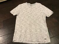Express Fashion V Vee Neck Casual Pocket Short Sleeve T Shirt - Size Medium