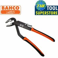 """Bahco 10"""" Slip Joint Plier 250mm Waterpump Pliers with 55mm Jaw Capacity BAH8224"""
