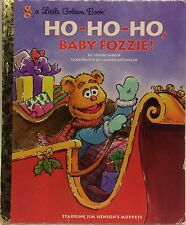 Save $5 off 4 or more! Ho Ho Ho Baby Fozzie! Golden Book Free US Ship