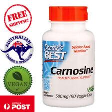 Doctor's Best, Carnosine, 500 mg, 90 Vegan Capsules Non-GMO - Healthy Aging