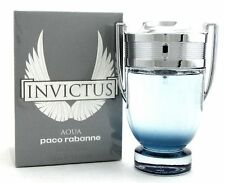 INVICTUS AQUA BY PACO RABANNE 3.4 O.Z EDT SPRAY *MEN'S PERFUME* NEW SEALED BOX