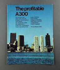 More details for airbus a300b manufacturers sales cutaway poster brochure