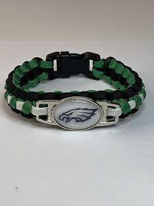 **NEW** Philadelphia Eagles NFL Team Logo Paracord Survivor Bracelet