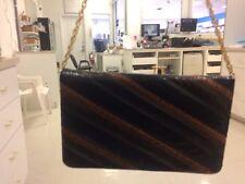 Women's Vintage Morle Leather Bifold Handbag Pocketbook Purse